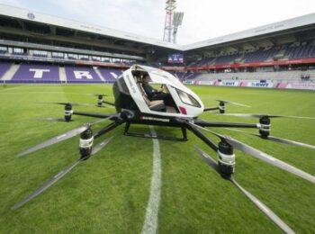 auto taksi fluturues15546540021 350x260 - Fluturon në Vjenë taksia-dron e parë në botë
