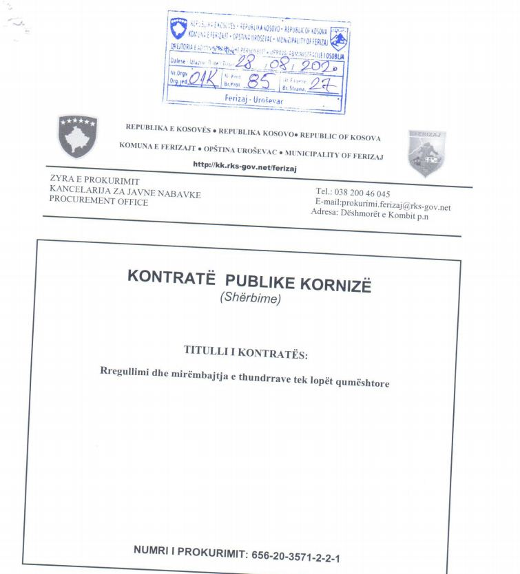 1 18 - Ferizaji shpenzon 30 mijë euro për mirëmbajtjen e thundrave të lopëve qumështore