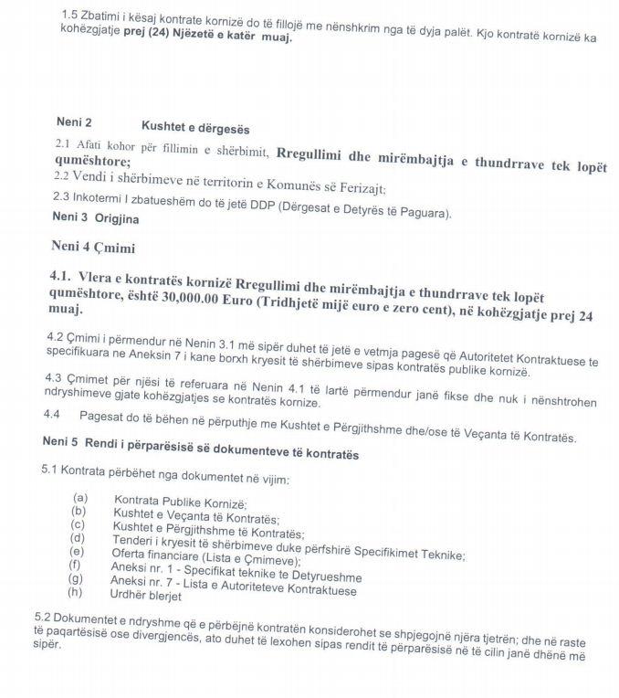 3 12 - Ferizaji shpenzon 30 mijë euro për mirëmbajtjen e thundrave të lopëve qumështore
