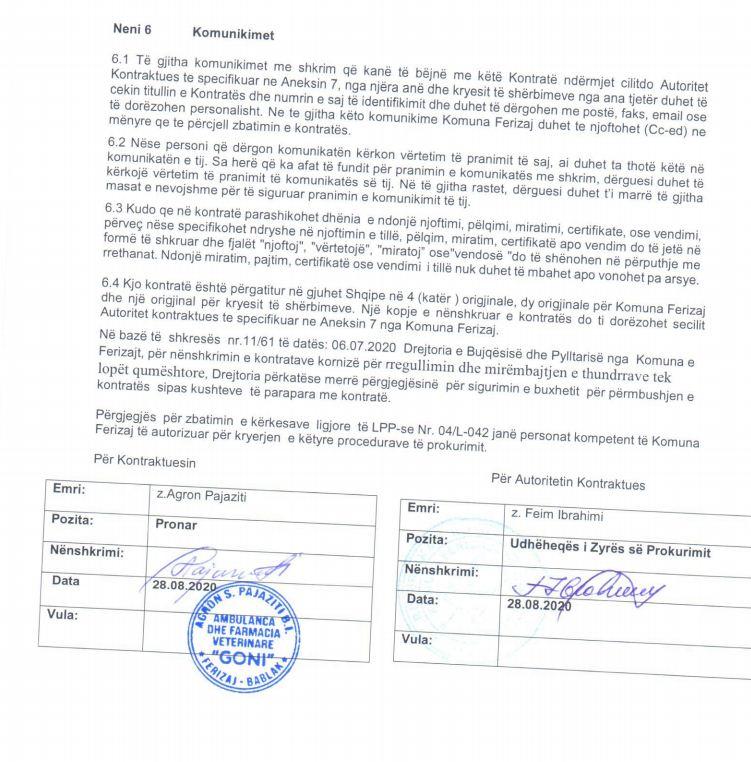 4 6 - Ferizaji shpenzon 30 mijë euro për mirëmbajtjen e thundrave të lopëve qumështore