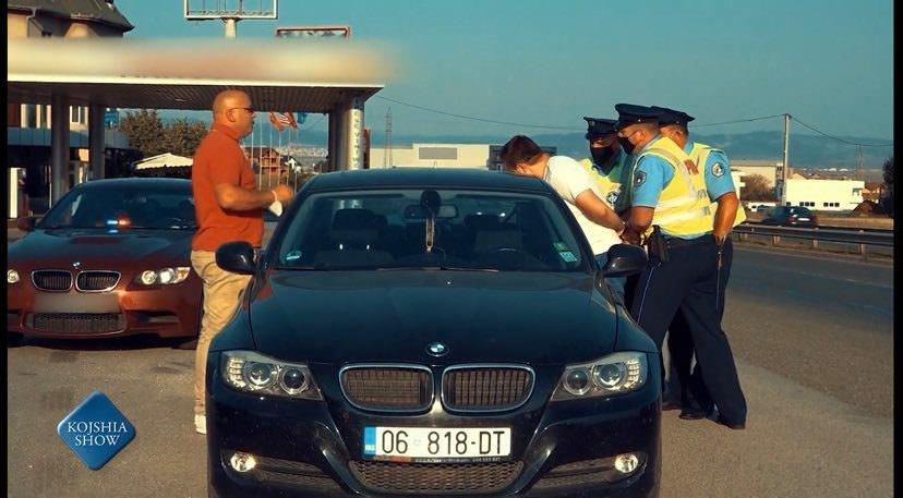 """E4783E7F 265C 47D7 859A 0C7BE9786911 1.jpeg - Si pjesë e 'shout', arrestohet prezantuesi i emisionit """"Kojshia Show"""" – pasi tentoi t'ua bëjë kamerën e fshehtë policisë"""