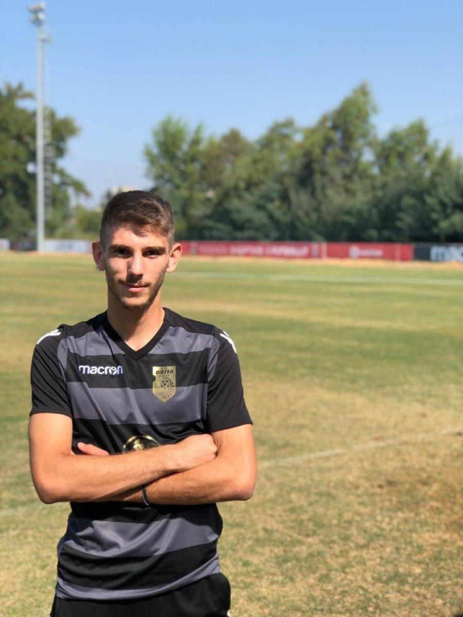 WP 14 - Zyrtare: FC Drita e përfundon afatin kalimtar me një futbollist të ardhur nga Ferizaj