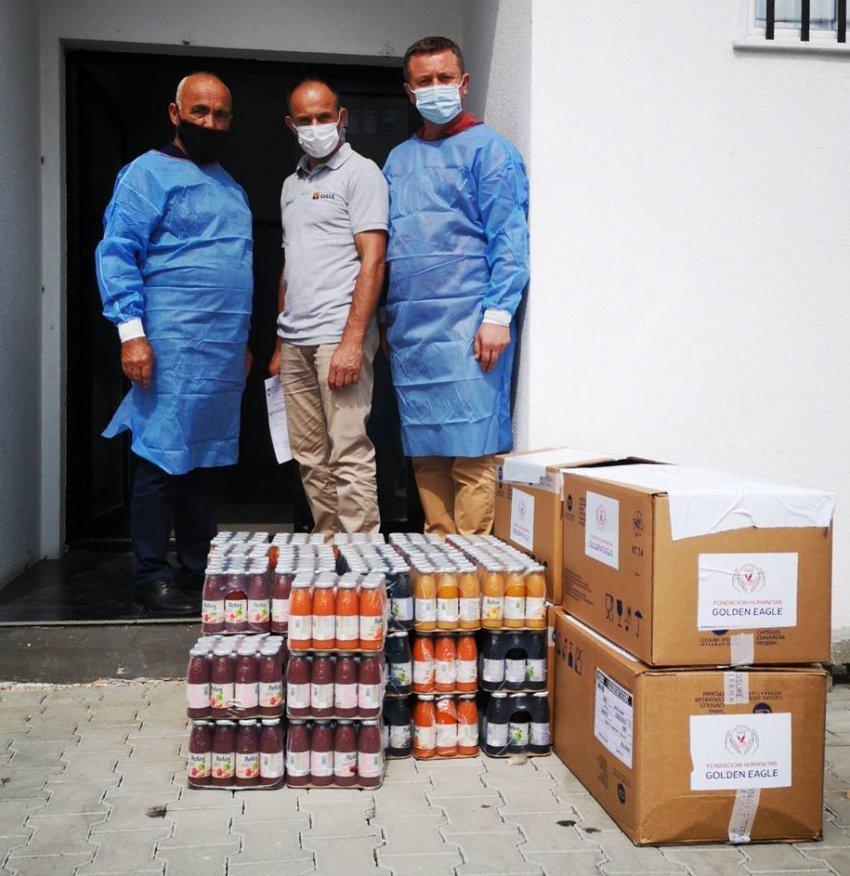 WP 6 - Donacion për spitalin e Ferizajt nga fondacioni Golden Eagle