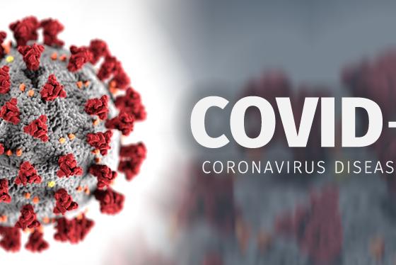 covid 19 560x374 - Lajm i mirë: Dita e dytë pa asnjë vdekje nga COVID-19, bie numri i të infektuarve në Kosovë