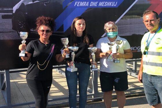 femrat1 560x374 - Ermira Topalli dhe Valon Jaha, fitues të auto-sllallomit