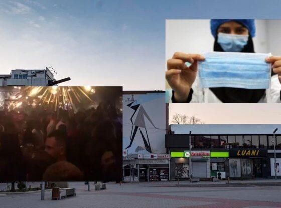 """ferizaj 960x500 11 560x416 - Dalje masive e qytetarëve në Ferizaj, femrat pa maska u kalojnë policëve """"para hundës"""", ja çfarë bënë ata VIDEO"""
