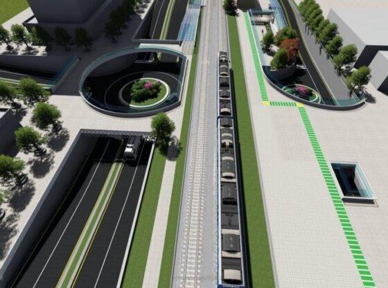 """w 14 560x416 - Komuna e Ferizajt ndërton 200 vend-parkingje nëntokësore në projektin """"Bashkimi i Qytetit"""""""