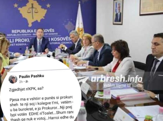 w 48 560x416 - Prokurori nga Ferizaj thotë se ju kërkua vota për anëtarë të KPK-së në tualet