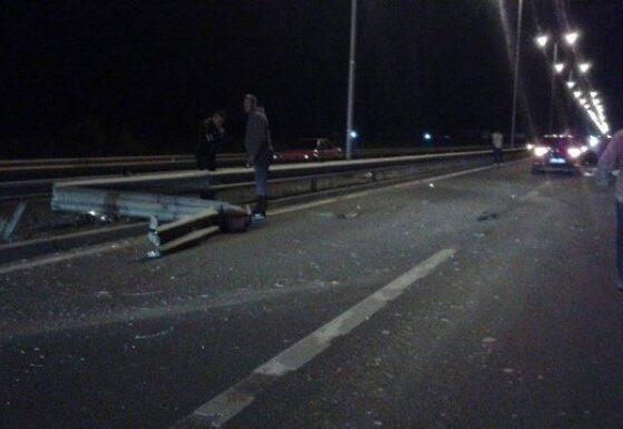 w 560x386 - Aksident i rëndë në rrugën Prishtinë-Ferizaj, dyshohet për një të vdekur