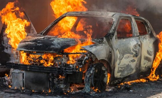 w 71 560x341 - Ferizaj: Digjet vetura në rrethana të panjohura