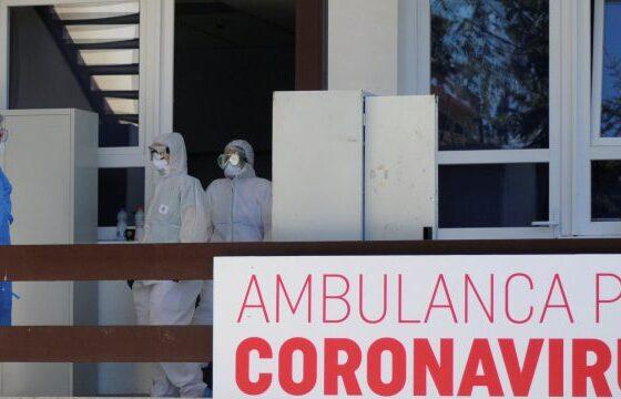 klinika infektive 3 2 600x3601 1 560x360 - Viti 2021 nis me rënie të rasteve dhe viktimave nga Covid-19 në Kosovë