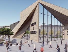qendra e kultures 275x210 - Kështu do të duket Pallati i Kulturës në Ferizaj, projekti milionësh i Ministrisë së Kulturës