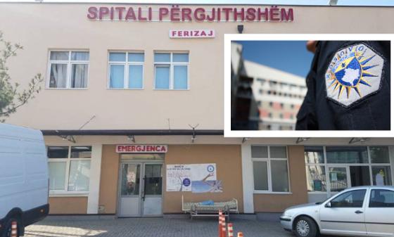 spitali 600x3371 1 560x337 - Ngjarja që tmerroi mbrëmë spitalin në Ferizaj, policia hodhi gaz lotsjellës në veturën ku gjendej një grua shtatzënë