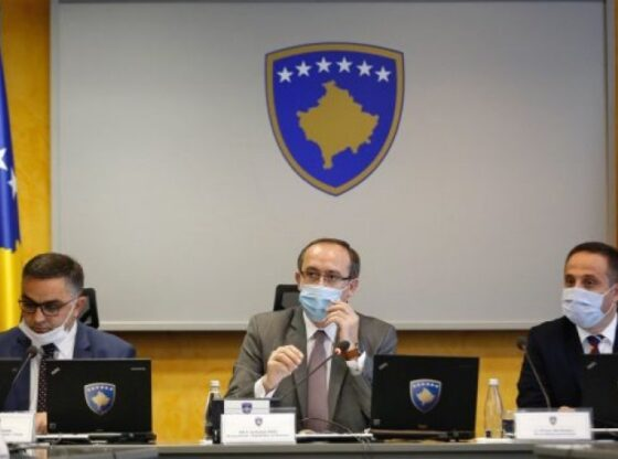 w 13 560x416 - Mblidhet Qeveria e Kosovës, merr këto vendime lidhur me menaxhimin e pandemisë