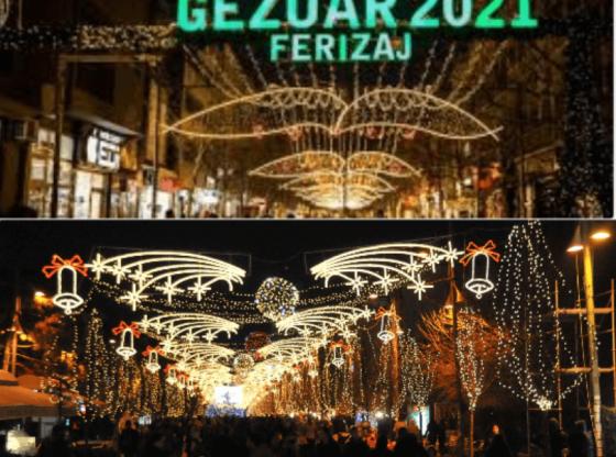 w 2 560x416 - Ndodh edhe kjo: Prishtina akuzon Ferizajn se e kopjoi në dekorim të qytetit