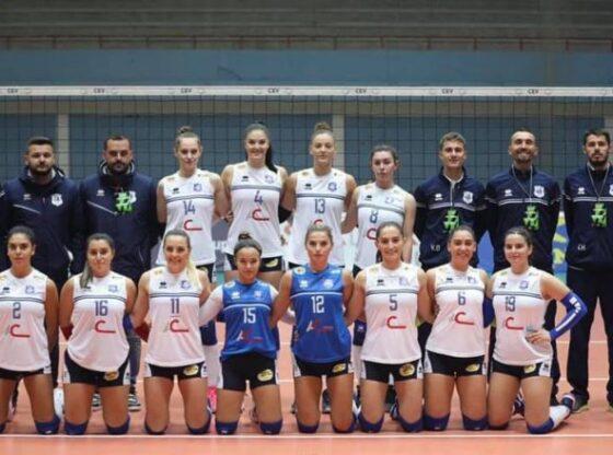 w 4 560x416 - Volejboll: Drita lider në konkurrencën e femrave, Ferizaj në atë të meshkujve