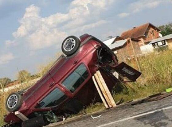 w 100 560x416 - Vdes një person në aksident trafiku në magjistralen Kaçanik-Ferizaj