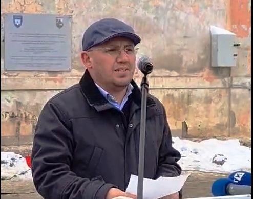 w 102 - Në Ferizaj u ngrit pllaka përkujtimore në kujtim të Holokaustit