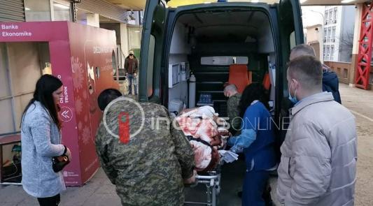 w 8 - Kjo është gjendja e 20 vjeçares nga shpërthimi në Ferizaj