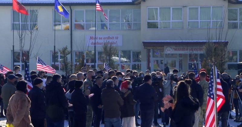 w 86 - Fshati Bibaj në Ferizaj feston inaugurimin e Bidenit