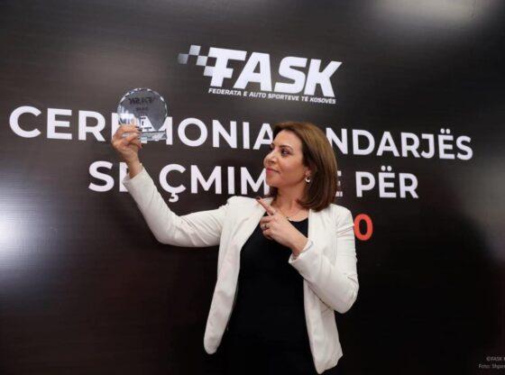 kadishja1 560x416 - FASK shpallë Kadishe Shabanin kampione të Kosovës