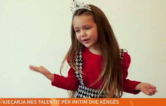 w 6 560x360 - 4-vjeçarja nga Ferizaj me talent të jashtëzakonshëm