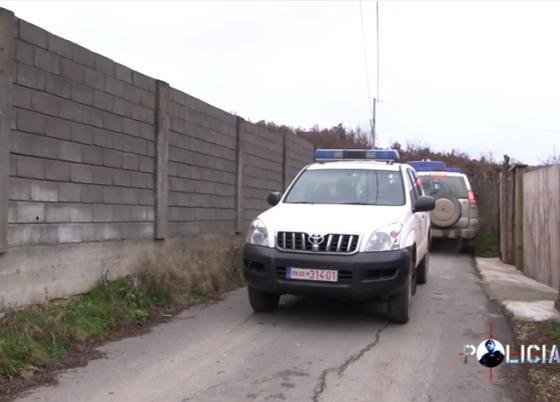 Policia 001 e14665096145391 560x402 - Gjendet e djegur vetura e vjedhur në Ferizaj