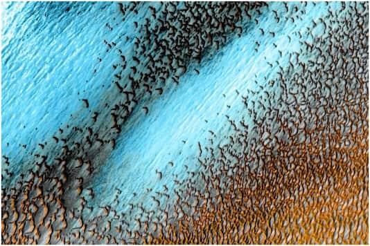 1618145145 mars1 - Marsi bëhet blu, NASA publikon imazhin spektakolar