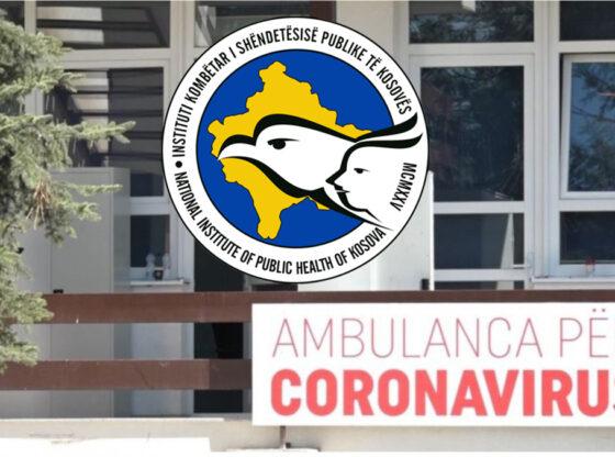 IKSHPK covid koronavirus ne kosove1 560x416 - Prishtina, Ferizaj dhe Mitrovica me numrin më të madh të rasteve të reja me Covid