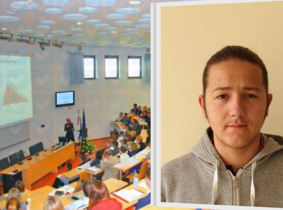 dren neziri 560x416 - Ferizajasi Dren Neziri fiton bursë të plotë studimi në Universitetin e Primorskës