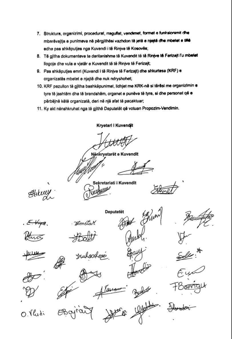 192072075 3948870101899483 910878487291027946 n - Kuvendi i të Rinjve të Ferizajt shkëputet nga KRK