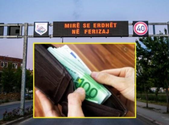 qytetari ferizajj1 560x416 - Qytetari nga Ferizaj bën gjestin e madh: Dorëzon në polici kuletën e gjetur me afër 400 euro